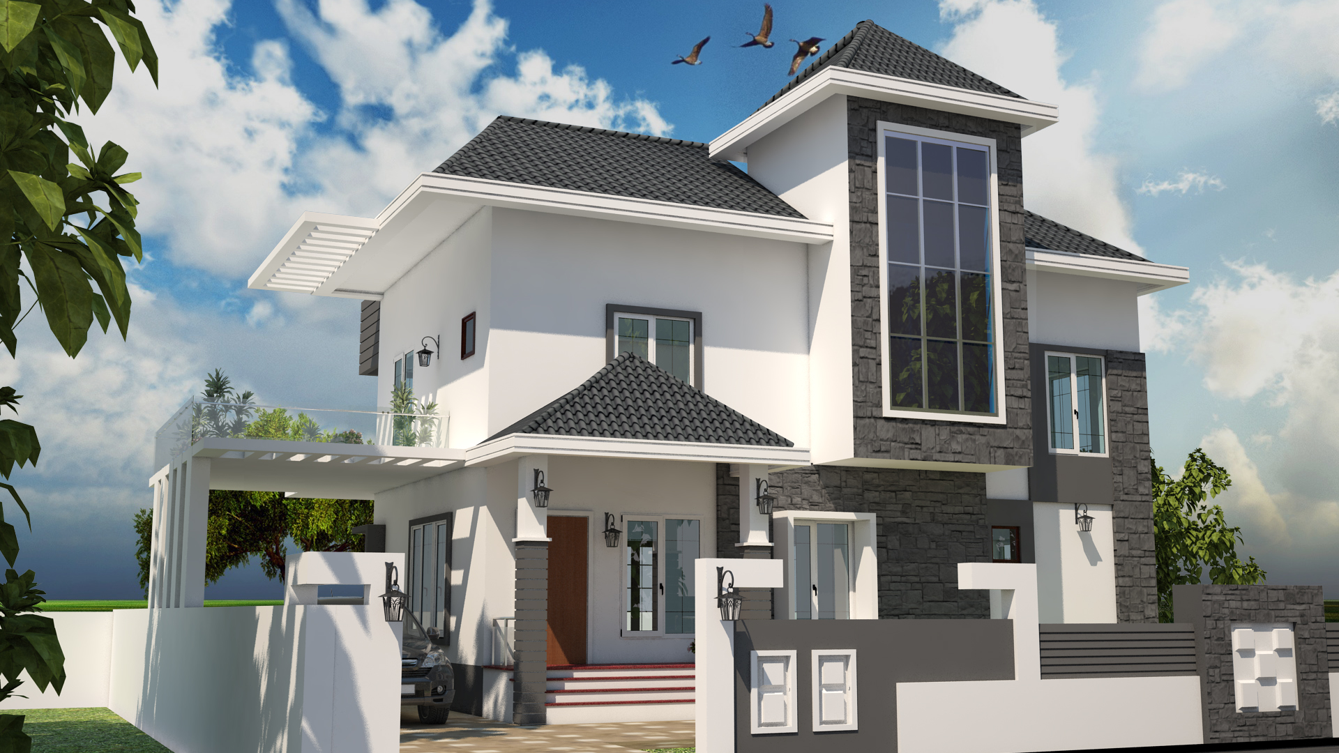 WE DESIGN YOUR EXTERIOR AS WELL