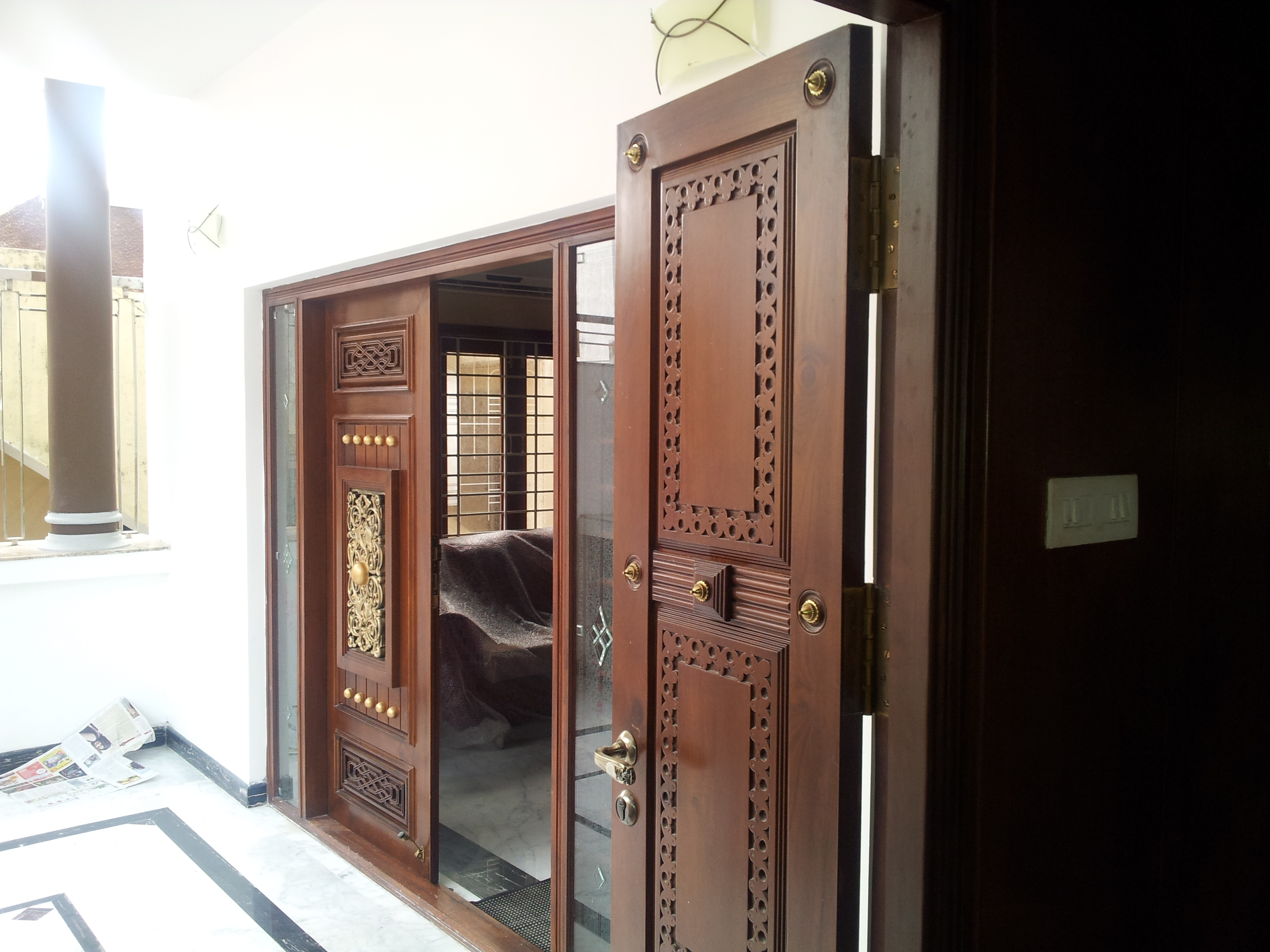 Decorative Main Door from Rosewood